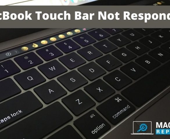 MacBook Touch Bar if Not Responding